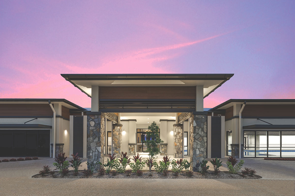 Living Gems Caboolture Riverfront country club entrance