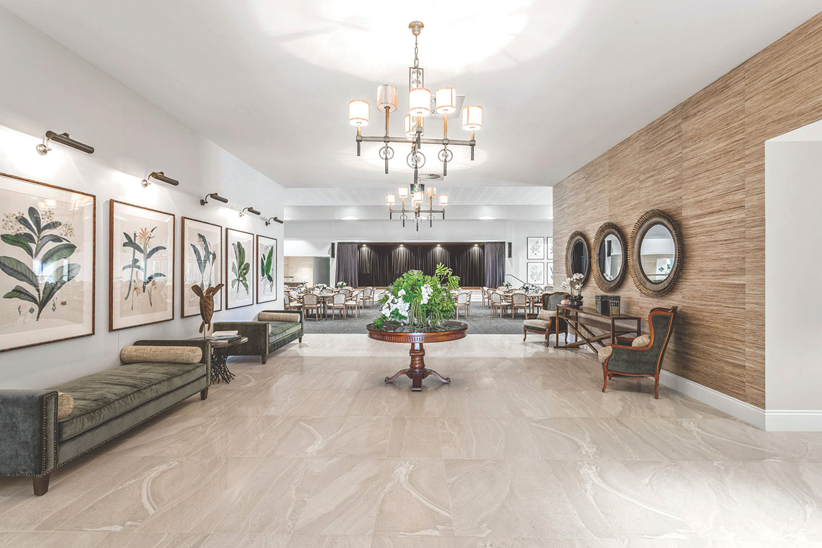 Living Gems Caboolture Riverfront country club interior