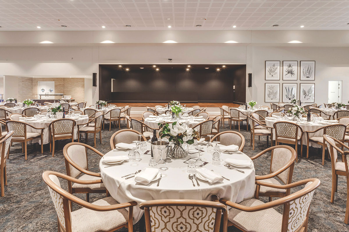 Living Gems Caboolture Riverfront country club dining room