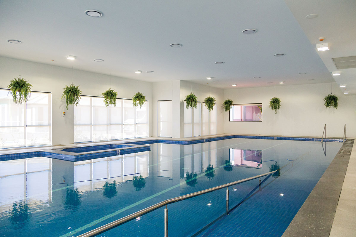Living Gems Caboolture Riverfront indoor swimming pool