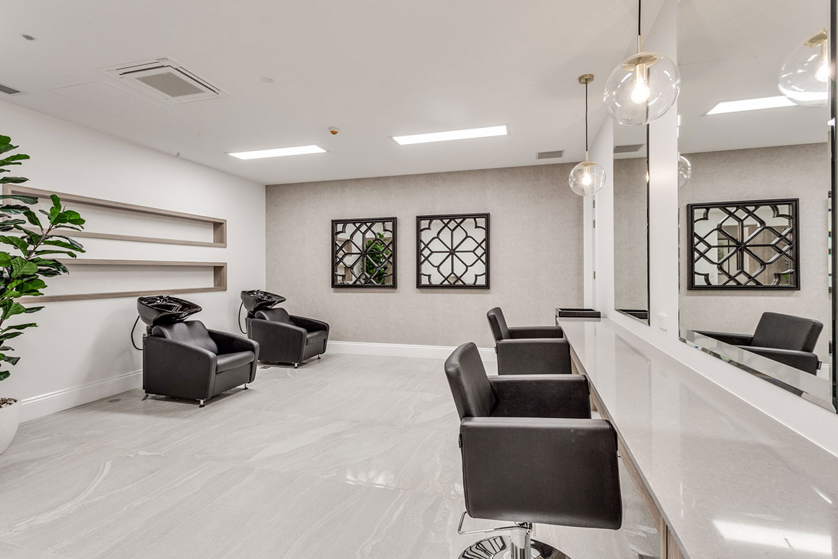 Living Gems Caboolture Riverfront country club hair dresser