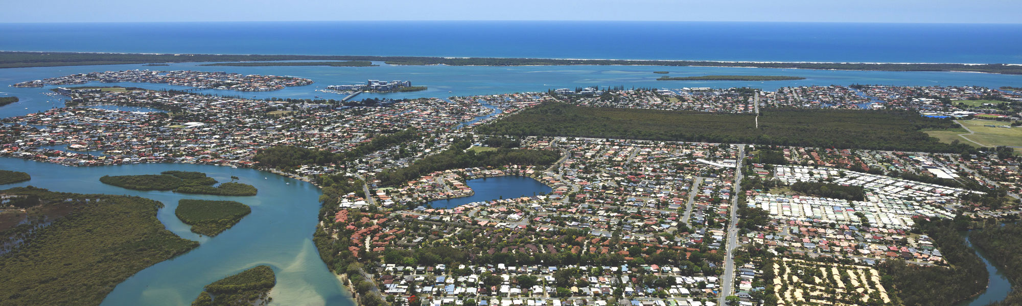 Living Gems Gold Coast aerial photo