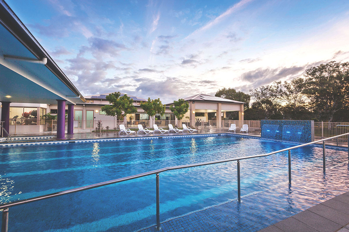 Opal by Living Gems country club swimming pool