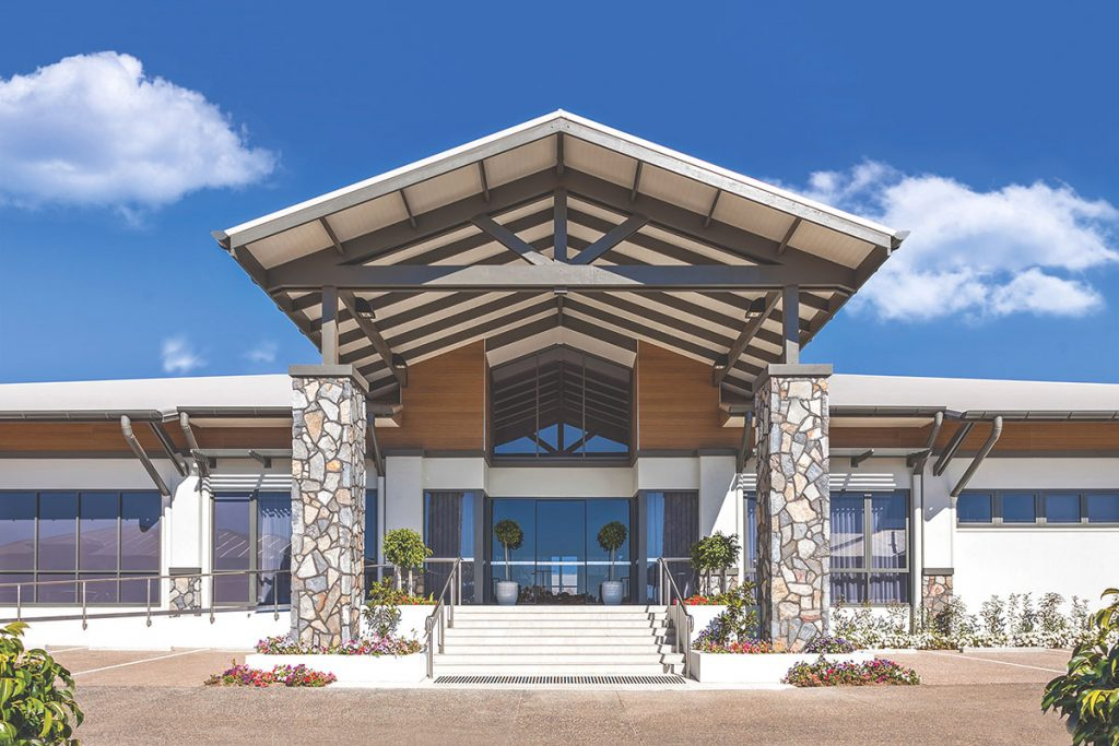 Living Gems Toowoomba country club entrance