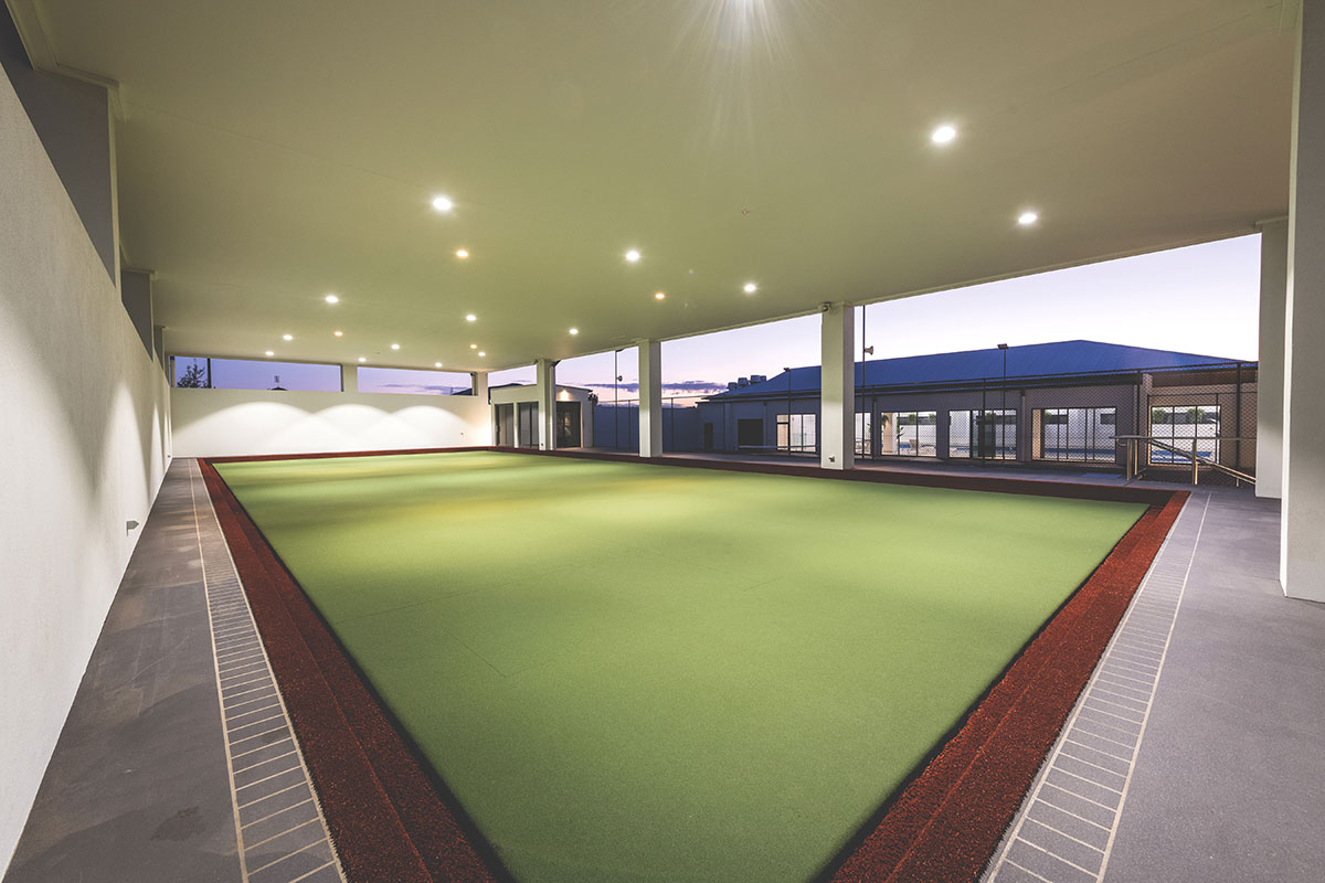 Living Gems Toowoomba country club bowling green